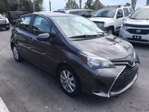2015 Toyota Yaris for sale at Gulf Financial Solutions Inc DBA GFS Autos in Panama City Beach FL
