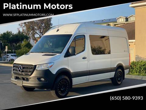 2020 Mercedes-Benz Sprinter Crew for sale at Platinum Motors in San Bruno CA