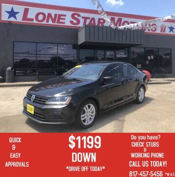 2018 Volkswagen Jetta for sale at LONE STAR MOTORS II in Fort Worth TX