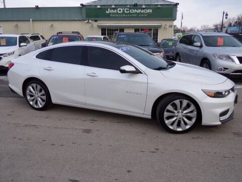 2017 Chevrolet Malibu for sale at Jim O'Connor Select Auto in Oconomowoc WI
