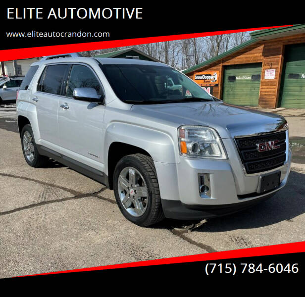 2013 GMC Terrain for sale at ELITE AUTOMOTIVE in Crandon WI