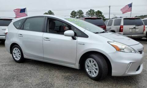 2012 Toyota Prius v for sale at Rodgers Enterprises in North Charleston SC