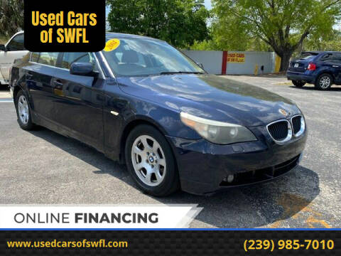 2004 BMW 5 Series for sale at Used Cars of SWFL in Fort Myers FL