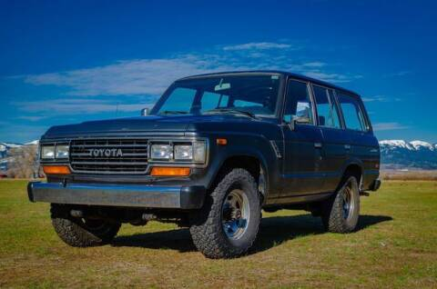1989 Toyota Land Cruiser for sale at Classic Car Deals in Cadillac MI