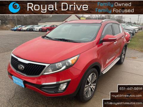 2015 Kia Sportage for sale at Royal Drive in Newport MN