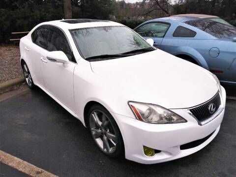 2009 Lexus IS 250 for sale at Weaver Motorsports Inc in Cary NC