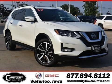 2017 Nissan Rogue for sale at Community Buick GMC in Waterloo IA