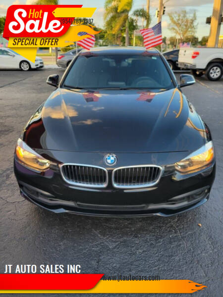 2016 BMW 3 Series for sale at JT AUTO SALES INC in Oakland Park FL