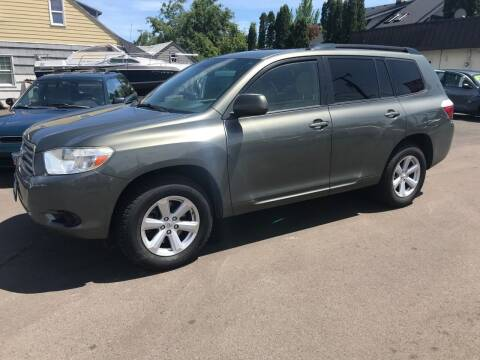 2008 Toyota Highlander for sale at Chuck Wise Motors in Portland OR