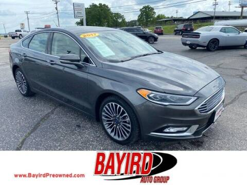 2017 Ford Fusion for sale at Bayird Truck Center in Paragould AR