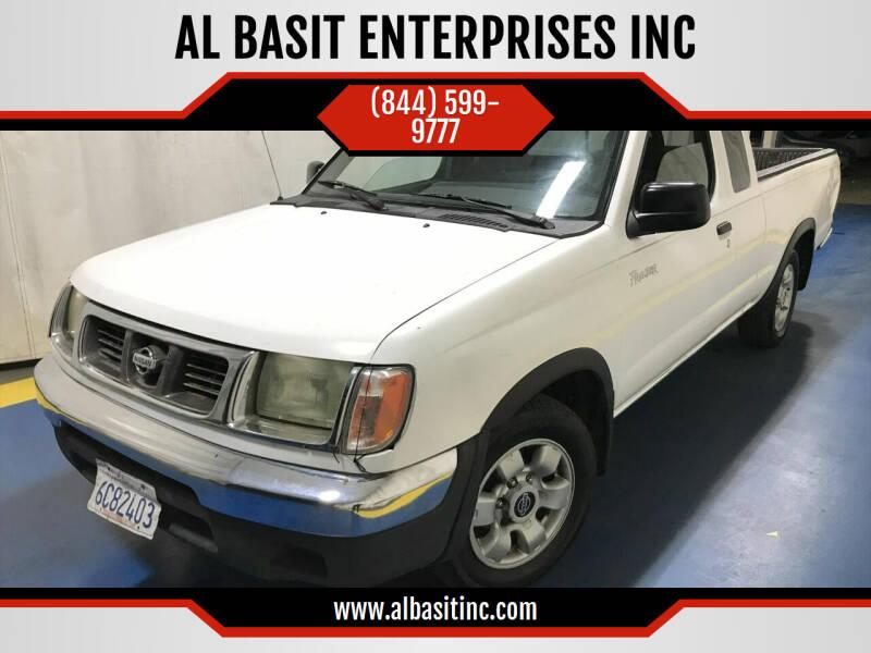 2000 Nissan Frontier for sale at AL BASIT ENTERPRISES INC in Riverside CA