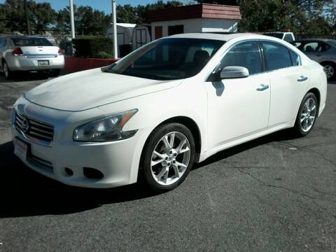2012 Nissan Maxima for sale at HARMAN MOTORS INC in Salisbury MD