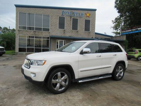 2012 Jeep Grand Cherokee for sale at Lone Star Auto Center in Spring TX