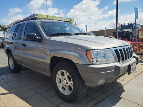2000 Jeep Grand Cherokee for sale at CARCO SALES & FINANCE #3 in Chula Vista CA