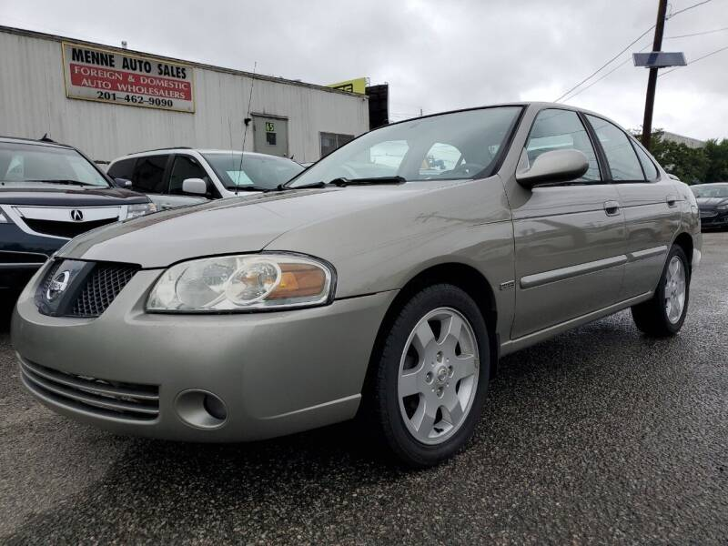 2006 Nissan Sentra for sale at MENNE AUTO SALES LLC in Hasbrouck Heights NJ