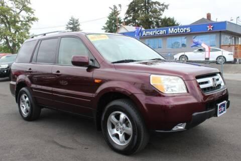 2007 Honda Pilot for sale at All American Motors in Tacoma WA