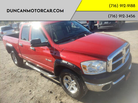 2008 Dodge Ram Pickup 1500 for sale at DuncanMotorcar.com in Buffalo NY
