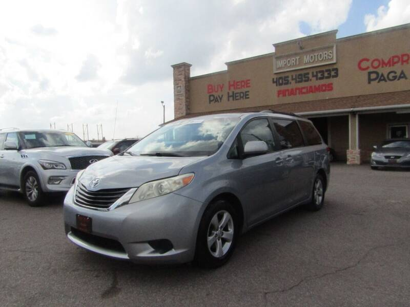 2011 Toyota Sienna for sale at Import Motors in Bethany OK