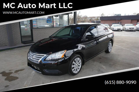 2014 Nissan Sentra for sale at MC Auto Mart LLC in Hermitage TN