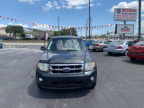 2008 Ford Escape Hybrid for sale at King Auto Deals in Longwood FL