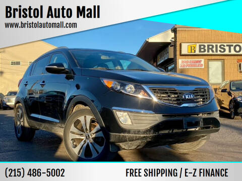 2013 Kia Sportage for sale at Bristol Auto Mall in Levittown PA
