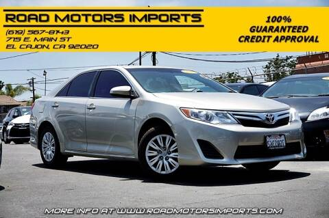 2014 Toyota Camry for sale at Road Motors Imports in El Cajon CA