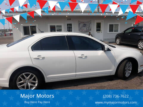 2011 Ford Fusion for sale at Major Motors in Twin Falls ID