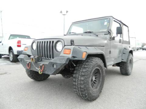 1998 Jeep Wrangler for sale at Auto House Of Fort Wayne in Fort Wayne IN