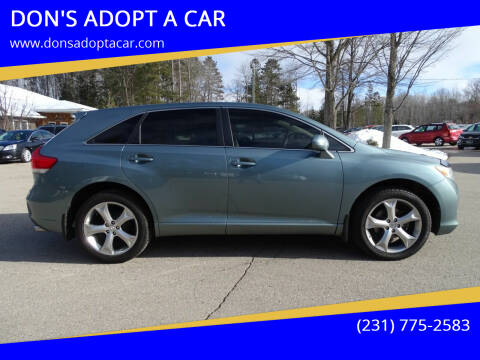 2009 Toyota Venza for sale at DON'S ADOPT A CAR in Cadillac MI