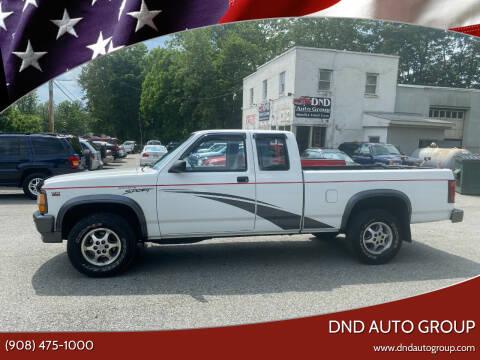 1996 Dodge Dakota for sale at DND AUTO GROUP in Belvidere NJ