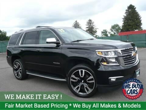 2015 Chevrolet Tahoe for sale at Shamrock Motors in East Windsor CT