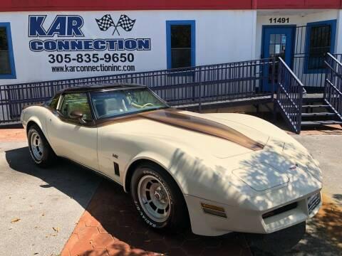 1980 Chevrolet Corvette for sale at Kar Connection in Miami FL