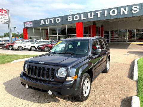 2014 Jeep Patriot for sale at Auto Solutions in Warr Acres OK
