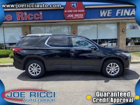 2018 Chevrolet Traverse for sale at JOE RICCI AUTOMOTIVE in Clinton Township MI