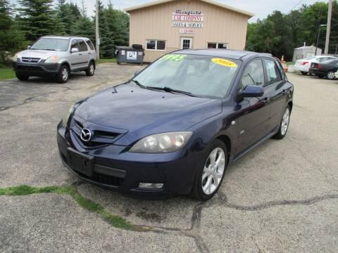 2008 Mazda MAZDA3 for sale at Richfield Car Co in Hubertus WI
