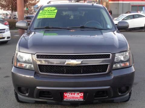 2011 Chevrolet Tahoe for sale at Vallejo Motors in Vallejo CA