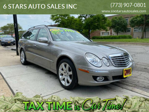 2008 Mercedes-Benz E-Class for sale at 6 STARS AUTO SALES INC in Chicago IL