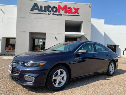2017 Chevrolet Malibu for sale at AutoMax of Memphis - V Brothers in Memphis TN