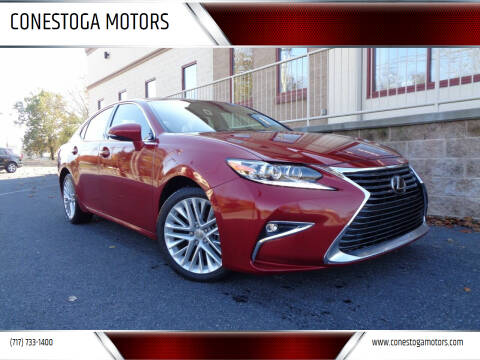2016 Lexus ES 350 for sale at CONESTOGA MOTORS in Ephrata PA