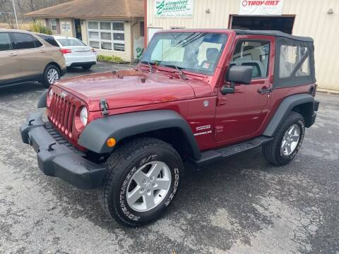 2012 Jeep Wrangler for sale at THE AUTOMOTIVE CONNECTION in Atkins VA