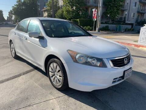 2010 Honda Accord for sale at FJ Auto Sales in North Hollywood CA