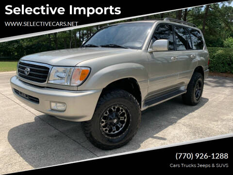 2002 Toyota Land Cruiser for sale at Selective Imports in Woodstock GA