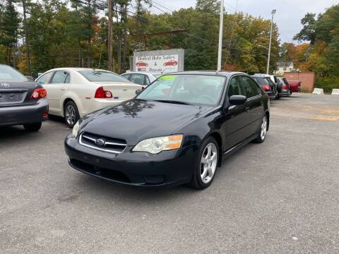 2007 Subaru Legacy for sale at United Auto Service in Leominster MA