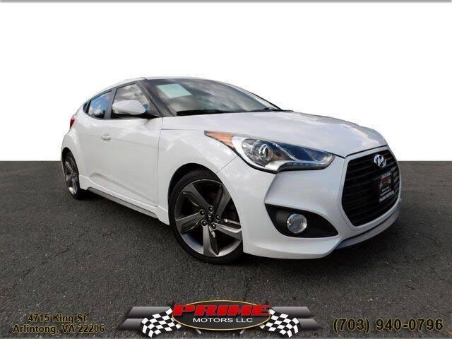 2013 Hyundai Veloster for sale at PRIME MOTORS LLC in Arlington VA