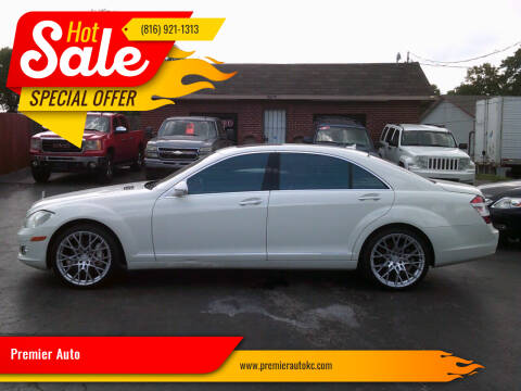 2009 Mercedes-Benz S-Class for sale at Premier Auto in Independence MO