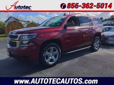 2017 Chevrolet Tahoe for sale at Autotec Auto Sales in Vineland NJ