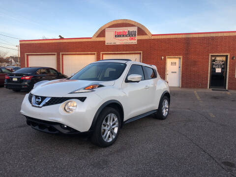 2015 Nissan JUKE for sale at Family Auto Finance OKC LLC in Oklahoma City OK