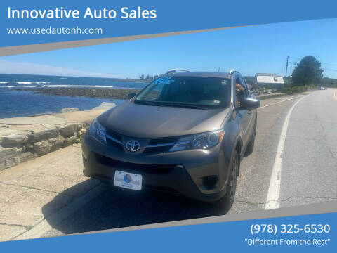 2013 Toyota RAV4 for sale at Innovative Auto Sales in North Hampton NH