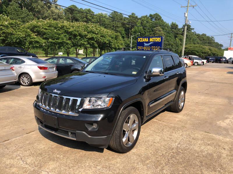 2012 Jeep Grand Cherokee for sale at Oceana Motors in Virginia Beach VA
