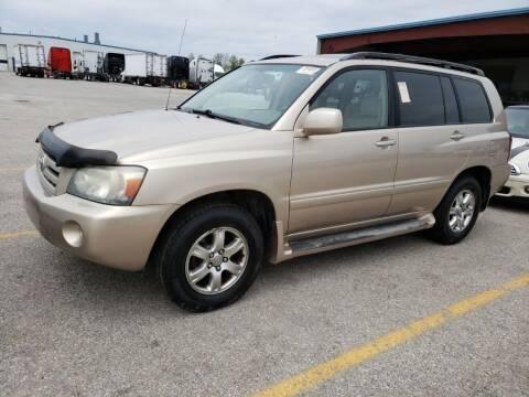 2004 Toyota Highlander for sale at Cj king of car loans/JJ's Best Auto Sales in Troy MI